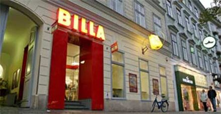 Billa-Überfall kommt Täter teuer zu stehen