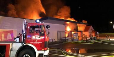 Billa-Brand in Himberg: Ursache geklärt