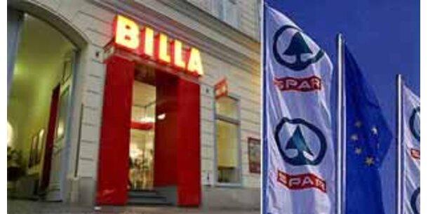 Spar und Billa trotzen der Krise