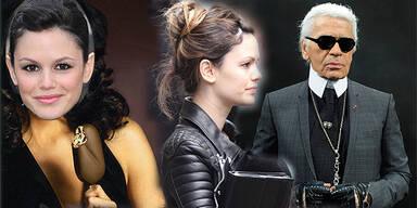 Karl Lagerfeld dreht mit Rachel Bilson Magnum-Werbespot