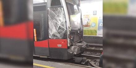7 Verletzte bei Bim-Unfall in Wien