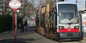 Chaos im Wiener Frühverkehr: Bim fahren nicht