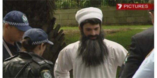 Bin-Laden-Schauspieler dringt in Bushs Hotel vor
