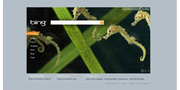 Microsoft Bing weiter im Vormarsch