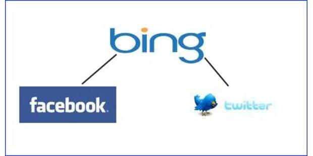 Bing & Google bekommen Echtzeitsuche