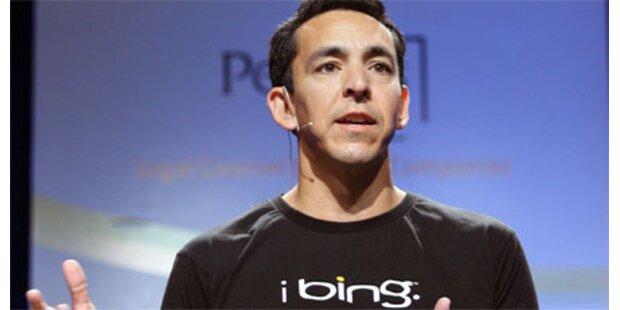Bing wuchs im August um 22 Prozent