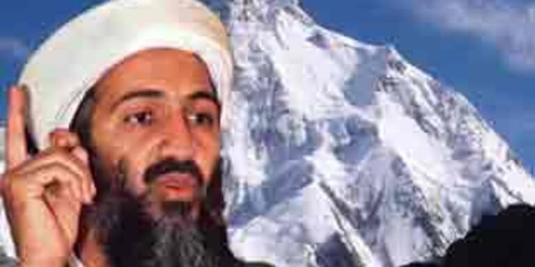 Bin Laden soll sich beim K2 versteckt halten