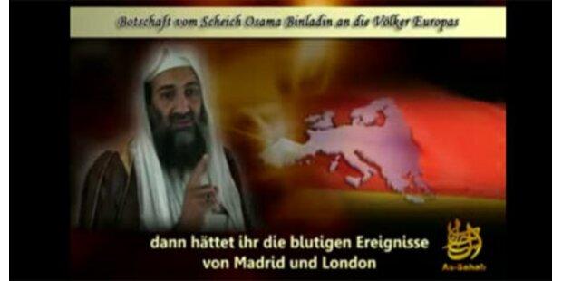 Bin Laden droht Europa