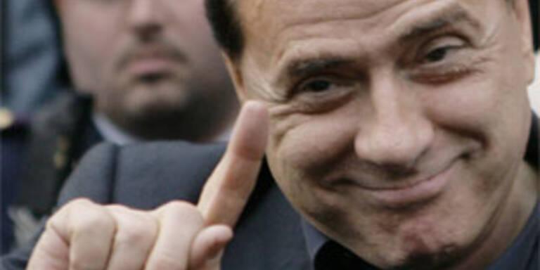 Das ist Medienzar Berlusconi