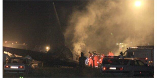 Passagiermaschine in Kirgistan abgestürzt
