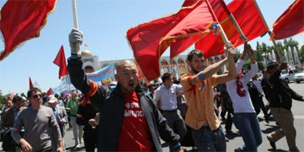 Kirgisien will Militärhilfe aus Moskau