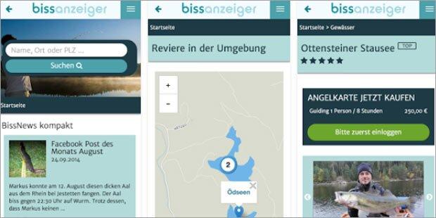 Erfolg für heimische Angler-App