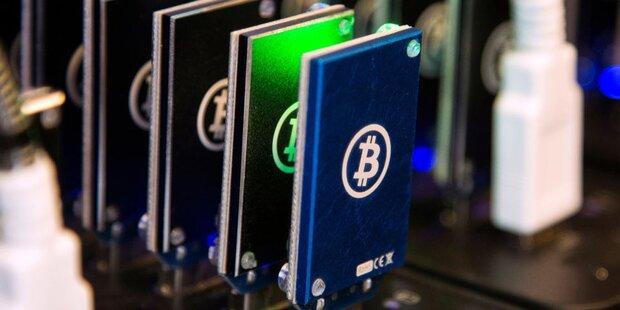 Bitcoin schießt über 4.000 Dollar