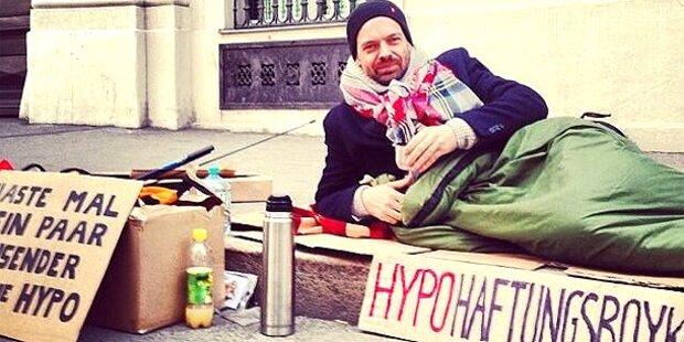 Ehrenhauser verlässt Protest-Camp