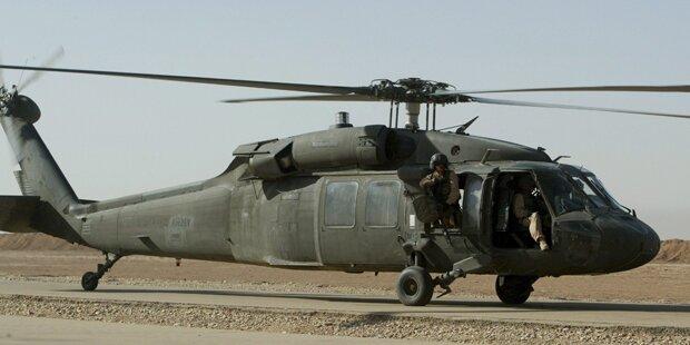 US-Militärhubschrauber abgestürzt
