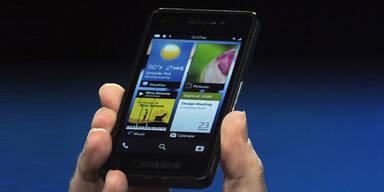 Blackberry bei Neuangriff voll auf Kurs
