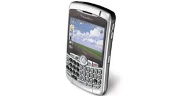 BlackBerry Curve 8310 kommt nach Österreich