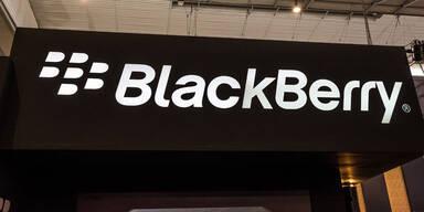 Blackberry kommt in die Gänge