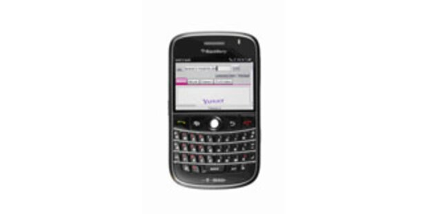 T-Mobile mit neuem Blackberry und Kundenzuwachs