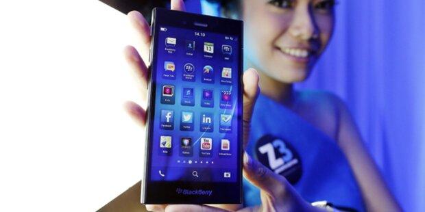 Blackberry greift mit Preisbrecher Z3 an