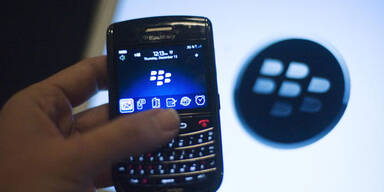Erneutes Chaos bei Blackberry-Diensten