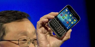 Blackberry greift mit dem Classic an