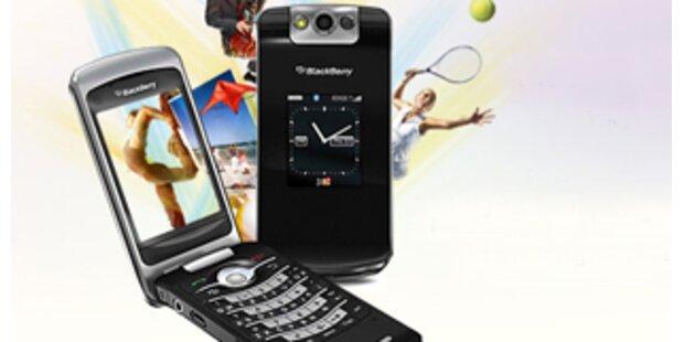Erstes BlackBerry-Handy zum Aufklappen
