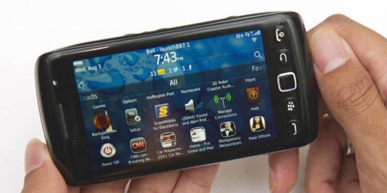 Weiter Probleme mit Blackberrys