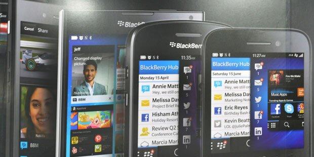 Blackberry findet in Erfolgsspur zurück