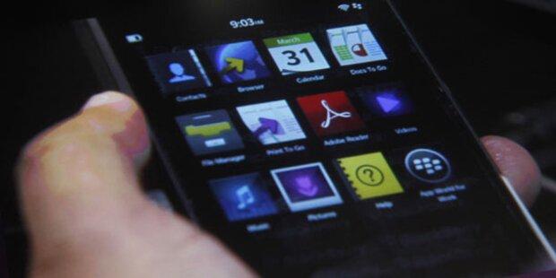Blackberry setzt mit Z10 zur Aufholjagd an