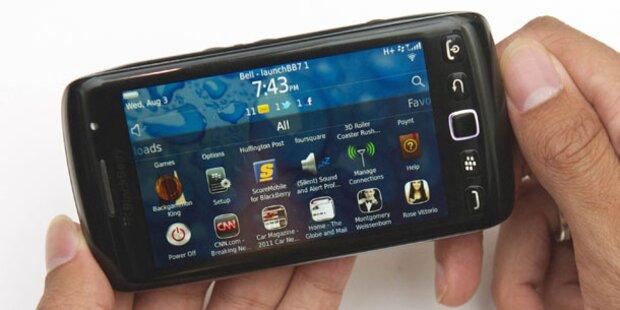 Torch & Bold: Fünf neue BlackBerrys starten