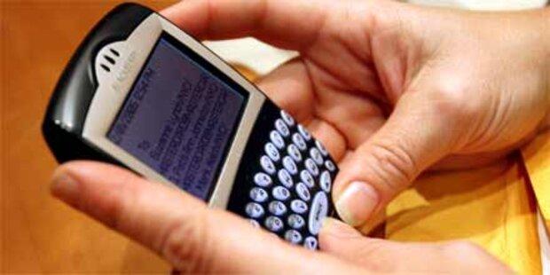 Verbot der wichtigsten Blackberry-Dienste