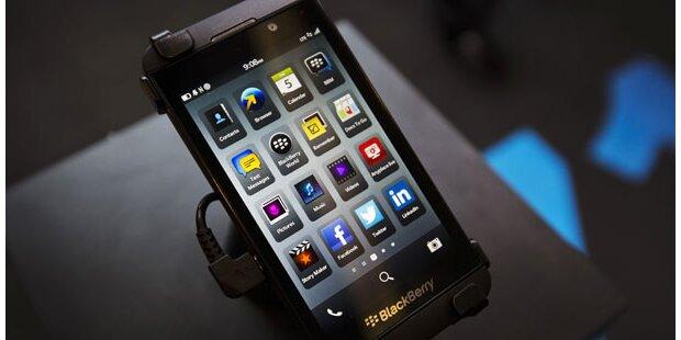 Neue Blackberrys teilen Pornos mit Freunden