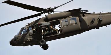 USA stationieren Black-Hawks in Lettland
