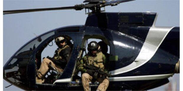 Hat Security-Firma Blackwater Waffen in den Irak geschmuggelt?