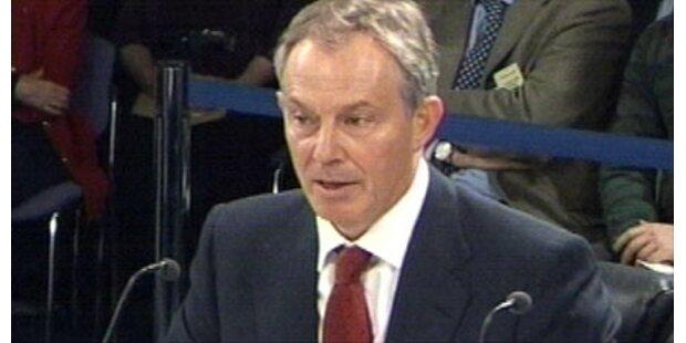 Blair rechtfertigt den Irak-Krieg
