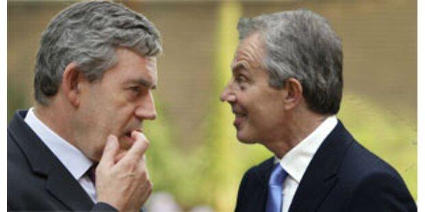 Brisante Blair-Notiz über Brown aufgetaucht