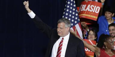 De Blasio neuer Bürgermeister von New York