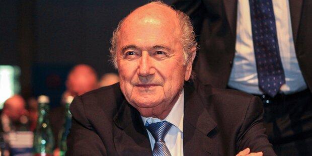 Blatter fühlt sich noch immer als FIFA-Präsident