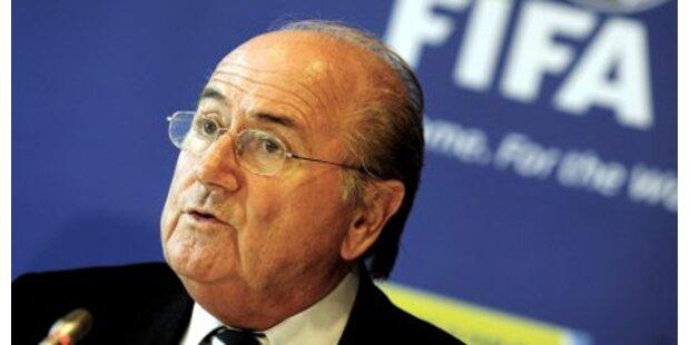 FIFA-Boss Blatter 1 Monat ohne Lappen