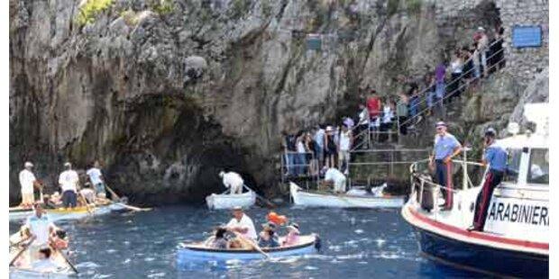 Capris Blaue Grotte wieder offen