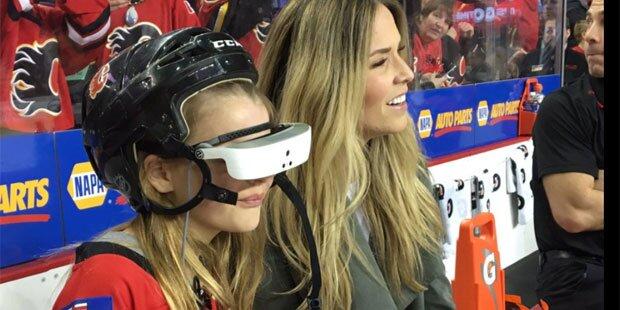 Blinder Fan sieht erstes NHL-Spiel