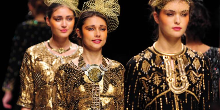 """London: """"Bling, Bling"""" wird zum Modetrend"""