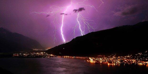 Männer trifft öfter der Blitz als Frauen