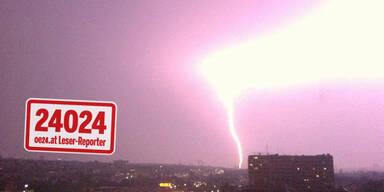 6.000 Blitze binnen weniger Stunden