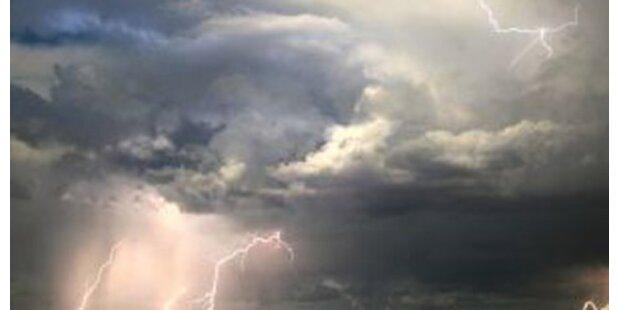 Kaum Überlebenschance bei Blitzeinschlag