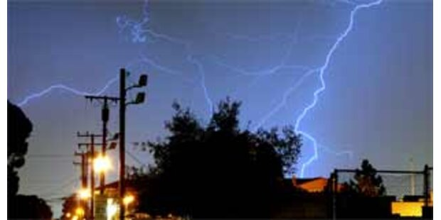 Hunderttausende ohne Strom in den USA