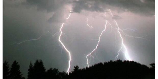 Unwettergefahr in ganz Österreich