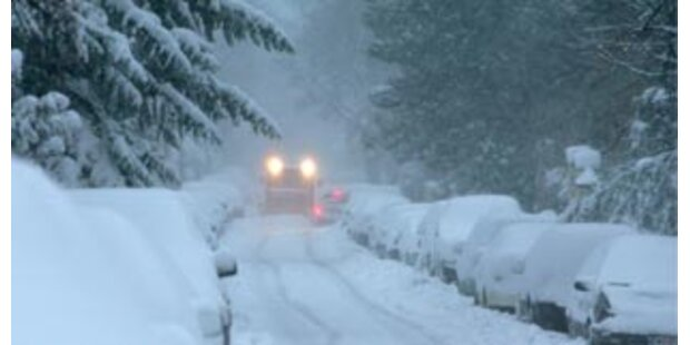 Blizzard-Alarm im Dezember