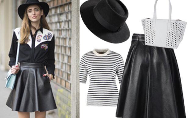 Blogger-Style: So gelingt der trendy Leder-Look